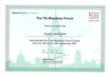 7th Maudsley Forum